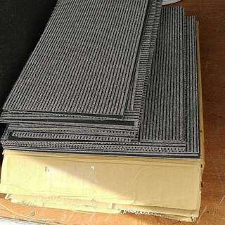東リ タイル カーペット 36枚 カット済み20枚 TG-1707 重量ゆうパック140サイズ2個口 東リタイルカーペットの画像