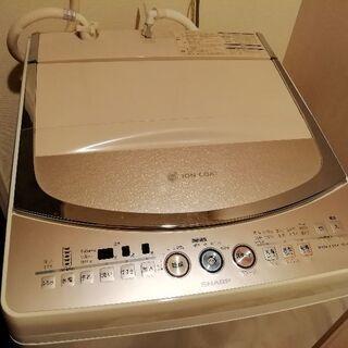 【引渡し予定者確定しました】【1000円】SHARP 洗濯機8k...