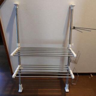 キッチンラック 2段 つっぱりラック ニトリ製