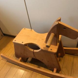 1〜3歳用 木馬 業者手作り