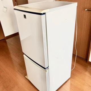 冷蔵庫 中古 SHARP 単身用 2011年製 SJ-14E7-...