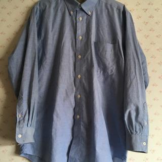 ボタンダウンの長袖シャツ(3枚組)