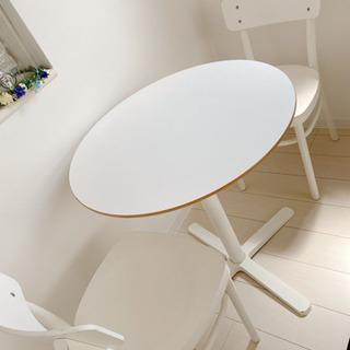 値引きしました!IKEAのダイニングテーブルとイス ホワイト