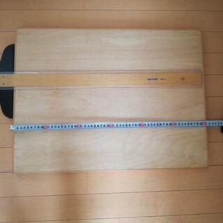 木製製図板とT 定規(5/31まで掲示)
