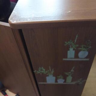決まりました シューズラック シューズボックス 6段靴箱 半扉付き 家具 − 北海道