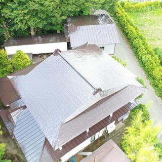 屋根や外壁の塗装いたします!!ドローンを使って無料診断!!