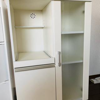 【取引確定】キッチンラック レンジ台 食器棚