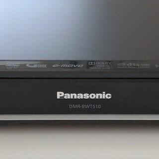 パナソニック製ブルーレイレコーダー DMR-BWT510 HDD...