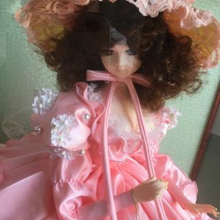 フランス人形 スキヨ リボン印 昭和レトロ