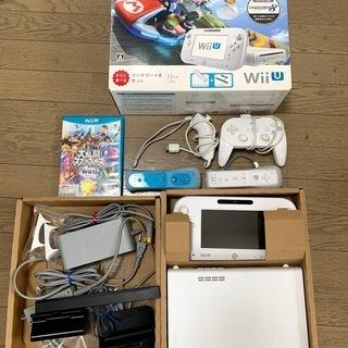 Wii U マリオカート8セット +  付属ソフト/付属品