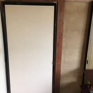 建具 開き戸 ③ 1枚 奥の間と廊下の間