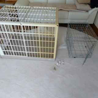 小型犬ケージ&キャリー 無料