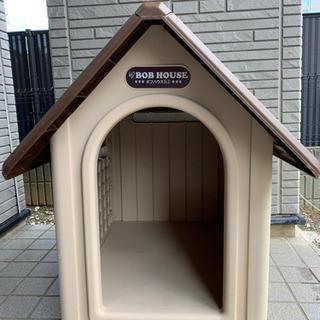 アイリスオーヤマ  犬舎 犬小屋 ボブハウス ブラウン  L
