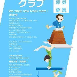 藤枝体操クラブ メンバー募集
