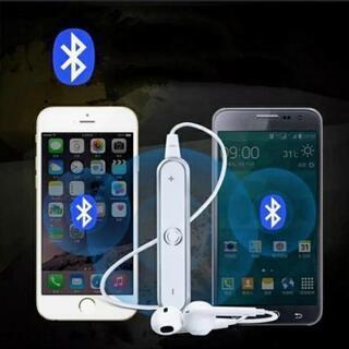 Bluetoothイヤホン白