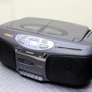 コンパクトディスクステレオカセット SHARP QT-C606-...