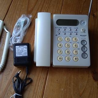 電話機 シャープ