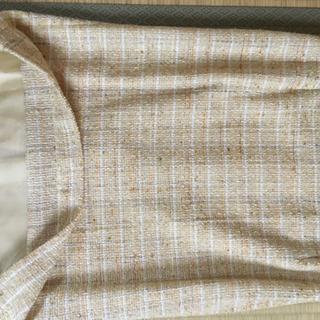 春物レディースカラースーツ(イエロー系) - 服/ファッション