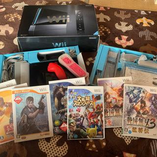 任天堂Wii本体 箱付き 値段交渉有り