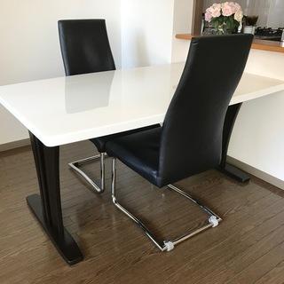 ダイニングセット(テーブル+椅子2脚)