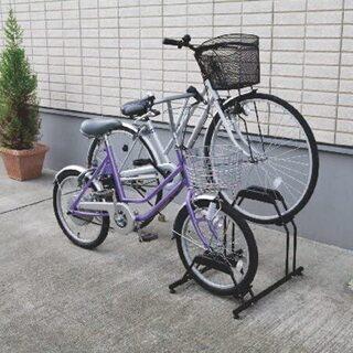 駐輪スペースを有効活用可能にするスタンド