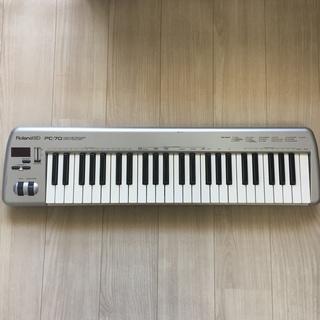 ローランド Roland ED PC-70 49鍵 MIDIキーボードの画像