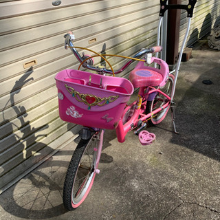 取引先決定 16インチ 女の子用 自転車