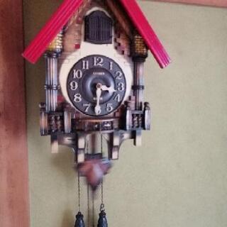【商談中】鳩時計 CITIZEN