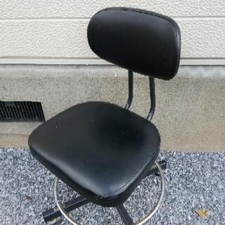★さしあげます★製図用椅子 PC作業用、勉強用☆
