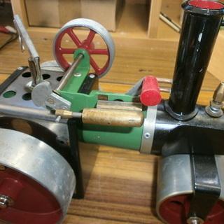ロードローラー型 蒸気エンジン模型 Mamod社製