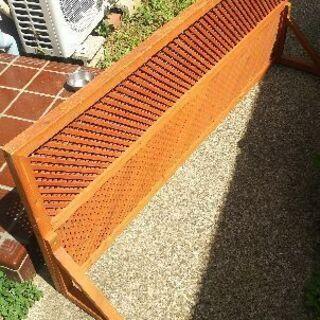 ウッドフェンス 木製パーテーション  ガーデニングペット脱走防止