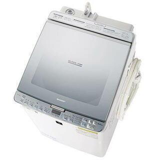 未使用 19年製☆シャープ 洗濯乾燥機 ES-PX8C 8kg4...