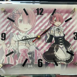 値段交渉OK!Re:ゼロから始める異世界生活【レム】時計 ガラス...