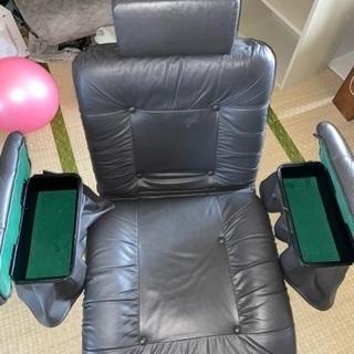 回転式リクライニング式椅子