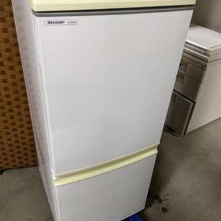 SHARP SJ-S14M 2ドア冷蔵庫 137L 200…