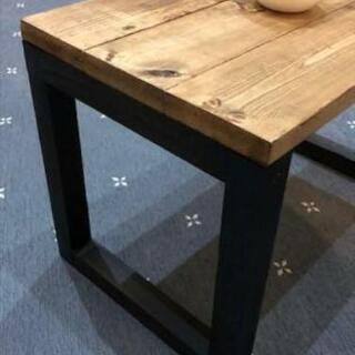 アイアン脚のローテーブル作ります。 ※画像はイメージです。