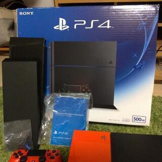 PlayStation®4 ジェット・ブラック 500GB CU...