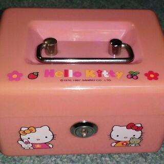 Hello Kitty キティちゃんのミニ金庫 小物入れ