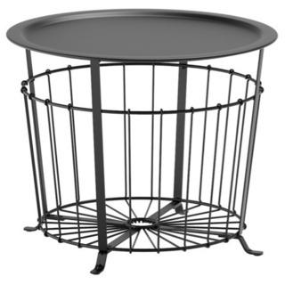 IKEA イケア グアローヴ 黒 ブラック テーブル