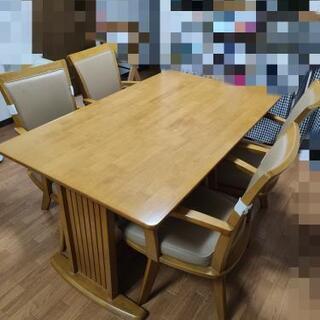 食卓 ダイニングテーブル 5点セット!