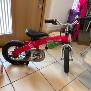 へんしんバイク、2歳から乗れます!