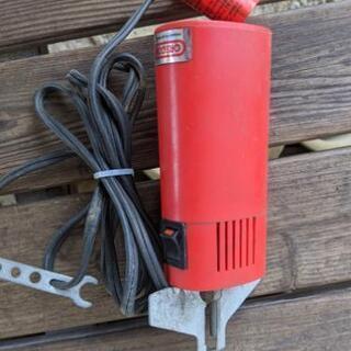 ジャンク品の目立て電動工具1個