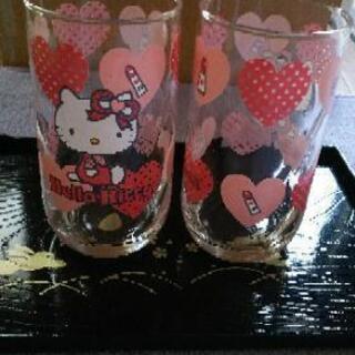 KITTYちゃんのグラス
