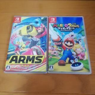 Nintendo switch 人気ソフトセット♪ マリオ+ラビ...
