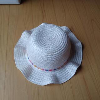麦わら帽子 48センチ 幼児用 ピンク