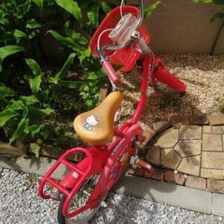 キティちゃん 自転車 幼稚園児