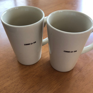 コムサイズム ペアマグカップ