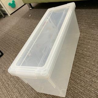 プラスチックケース 小さめ 中古^_^