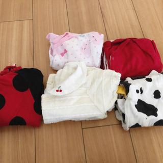 [夏用]新生児服5着#2