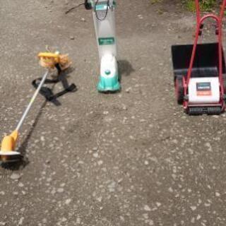 芝刈機 電動 人力 多少値下げ交渉いたします!
